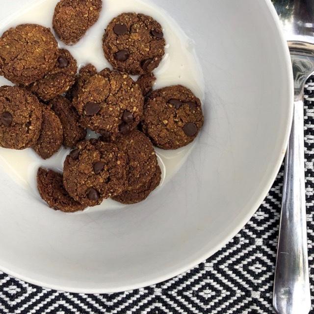 Photo de l'article Céréales cookies petit déjeuner